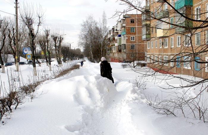 Лопата для уборки снега самодельная