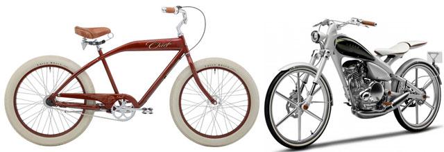 Двухколёсный велосипед и мотоцикл, которые не падают во время движения