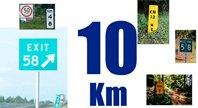 Зачем на трассах отметки километров?