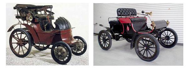 Первый электрический автомобиль Роберта Андерсона и первый серийный автомобиль США, Curved Dash Oldsmobile