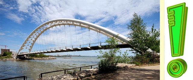 Так выглядит арочный мост