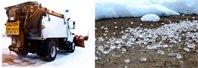 Почему когда идет снег дороги посыпают песком или солью?